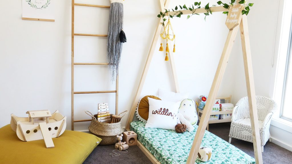 Teepee Bed Frame Toddler